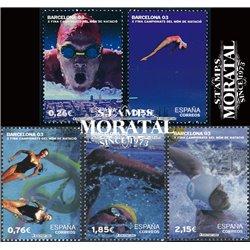 2003 Spanien 3848/3850 Schwimmen WM Barcelona  ** Perfekter Zustand  (Michel)