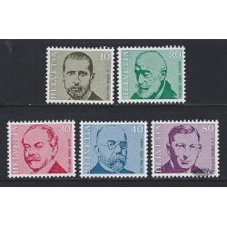 1971 - Switzerland  Sc# 535/539  ** MNH Very Nice. Physicians (Scott)