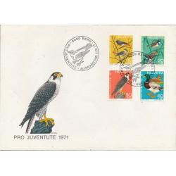 1971 - Switzerland  Sc# B402/B405  F.D.C.  Nice. Pro Juventute 71 (Scott)