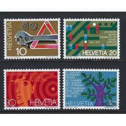 1972 - Switzerland  Sc# 540/543  ** MNH Very Nice. Years Events (Scott)