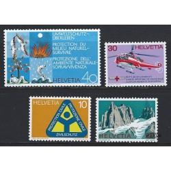 1972 - Switzerland  Sc# 551/554  ** MNH Very Nice. Years Events (Scott)