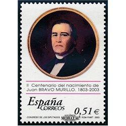 2003 Spanien 3853 Juan Bravo Murillo  ** Perfekter Zustand  (Michel)