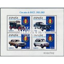 2003 Spanien Block118 Block-R.A.C.E.  ** Perfekter Zustand  (Michel)