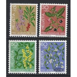 1974 - Switzerland  Sc# B426/B429  ** MNH Very Nice. Pro Juventute 74 (Scott)