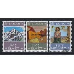 1975 - Switzerland  Sc# 603/605  ** MNH Very Nice. Europa 75 (Scott)