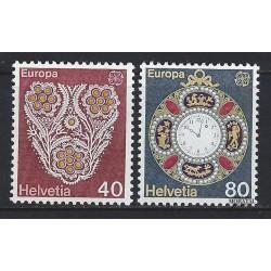 1976 - Switzerland  Sc# 614/6915  ** MNH Very Nice. Europa 76 (Scott)