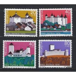 1976 - Switzerland  Sc# B439/B442  ** MNH Very Nice. Pro Patria 76 (Scott)