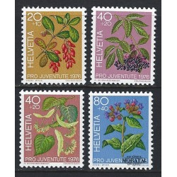 1976 - Switzerland  Sc# B443/B446  ** MNH Very Nice. Pro Juventute 76 (Scott)