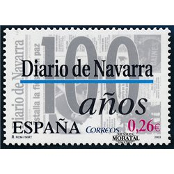 2003 Spanien 3862 Diario de Navarra  ** Perfekter Zustand  (Michel)