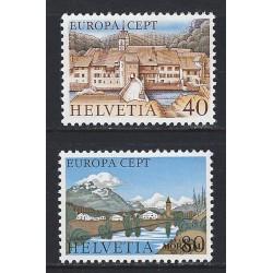 1977 - Switzerland  Sc# 627/628  ** MNH Very Nice. Europa 77 (Scott)