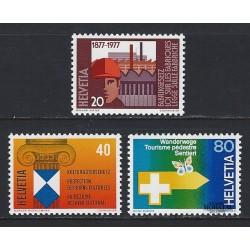 1977 - Switzerland  Sc# 629/631  ** MNH Very Nice. Years Events (Scott)