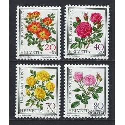 1977 - Switzerland  Sc# B451/B454  ** MNH Very Nice. Pro Juventute 77 (Scott)