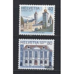 1978 - Switzerland  Sc# 657/658  ** MNH Very Nice. Europa 78 (Scott)