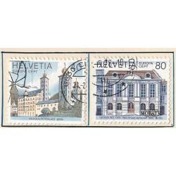 1978 - Switzerland  Sc# 657/658  © Used, Nice. Europa 78 (Scott)