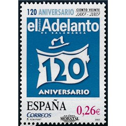 2003 Espagne 3578 L'avance  **MNH TTB Très Beau  (Yvert&Tellier)