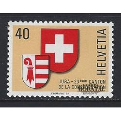 1978 - Switzerland  Sc# 666  ** MNH Very Nice. Admission of Jura as 23rd Canton (Scott)