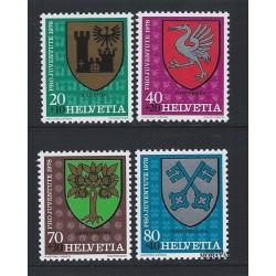1978 - Switzerland  Sc# B459/B462  ** MNH Very Nice. Pro Juventute 78 (Scott)