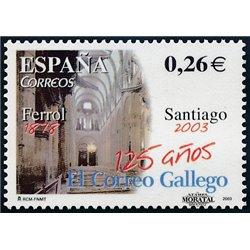 2003 Spanien 3873 El Correo Gallego  ** Perfekter Zustand  (Michel)