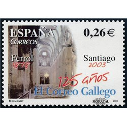 2003 Espagne 3587 El Correo Gallego  **MNH TTB Très Beau  (Yvert&Tellier)