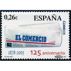 2003 España 4003/4010 La Mujer y Las Flores (Adhesivo)    (Edifil)