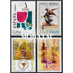 2003 Espagne 3602/3593  Appellation d'origine vins  **MNH TTB Très Beau  (Yvert&Tellier)