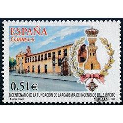 2003 Espagne 3594 Académie des ingénieurs armée  **MNH TTB Très Beau  (Yvert&Tellier)