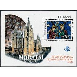 2003 Spanien Block119 Block-Santa Maria - Leon  ** Perfekter Zustand  (Michel)