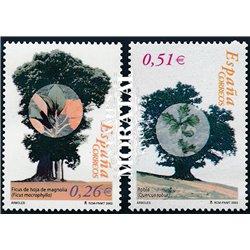 2003 Espagne 3597/3598  Arbres  **MNH TTB Très Beau  (Yvert&Tellier)