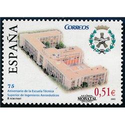 2003 Spanien 3885 75 Aniv. Luftfahrt-Schule  ** Perfekter Zustand  (Michel)