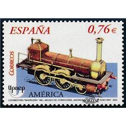2003 Spanien 3886 U.P.A.E.P. Eisenbahn  ** Perfekter Zustand  (Michel)