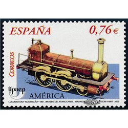 2003 Espagne 3600 U.P.A.E.P. chemin de fer  **MNH TTB Très Beau  (Yvert&Tellier)