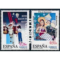 2003 Espagne 3607/3608  Christmas  **MNH TTB Très Beau  (Yvert&Tellier)