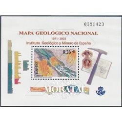 2003 Espagne BF-121 BF carte national géologique  **MNH TTB Très Beau  (Yvert&Tellier)