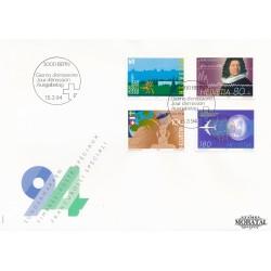 1994 - Switzerland  Sc# 938/941  F.D.C.  Nice. Years Events (Scott)