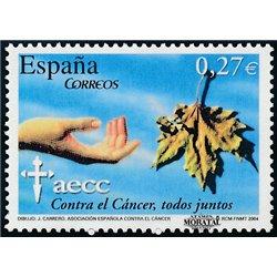 2004 Espagne 3632 Lutte contre le Cancer  **MNH TTB Très Beau  (Yvert&Tellier)