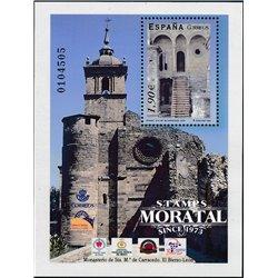 2004 Spanien Block135 Block-Kloster Carracedo Kloster-Tourismus ** Perfekter Zustand  (Michel)