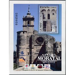 2004 Espagne BF-134 Monastère de BF Carracedo Monastère-Tourisme **MNH TTB Très Beau  (Yvert&Tellier)