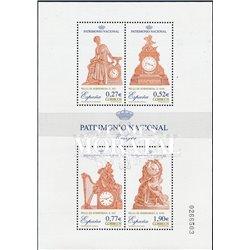 2004 Spanien Block136 Block-nationales Erbe. Uhren  ** Perfekter Zustand  (Michel)