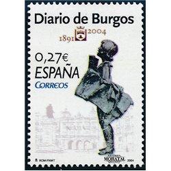 2004 Espagne 3645 Diario de Burgos  **MNH TTB Très Beau  (Yvert&Tellier)