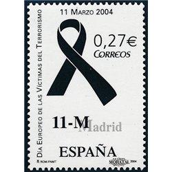 2004 Spanien 3942 Opfer des Terrorismus  ** Perfekter Zustand  (Michel)