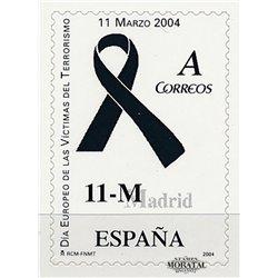 2004 Spanien 3943 Opfer des Terrorismus. Selbstklebend  ** Perfekter Zustand  (Michel)