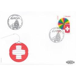 1998 - Switzerland  Sc# 1026  F.D.C.  Nice. Europa 98 (Scott)