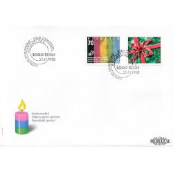 1998 - Switzerland  Sc# 1035  F.D.C.  Nice. Human Rights, 50th (Scott)