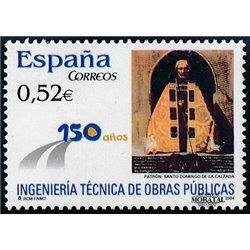 2004 Espagne 3653 TEC ingénierie. Travaux publics  **MNH TTB Très Beau  (Yvert&Tellier)