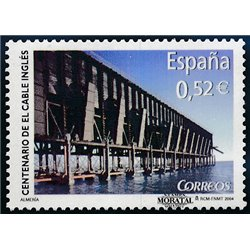2004 Espagne 3654 Câble anglais du centenaire  **MNH TTB Très Beau  (Yvert&Tellier)