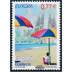 2004 España 4076A/4076D SH Indumentaria. Mantón    (Edifil)