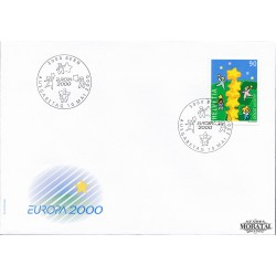 2000 - Switzerland  Sc# 1074  F.D.C.  Nice. Europa 00 (Scott)