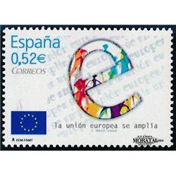 2004 Espagne 3656 Élargissement de l'Union européenne  **MNH TTB Très Beau  (Yvert&Tellier)