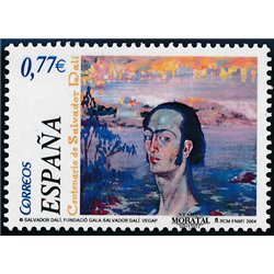 2004 Spanien 3953 Salvador Dali  ** Perfekter Zustand  (Michel)
