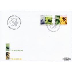 2000 - Switzerland  Sc# 1089, 1091  F.D.C.  Nice. Tourism (Scott)
